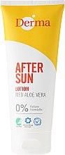 Voňavky, Parfémy, kozmetika Mlieko po opaľovaní s aloe extraktom - Derma After Sun Lotion Med Aloe Vera