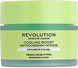 Voňavky, Parfémy, kozmetika Krém na pokožku okolo očí s uhorkou - Revolution Skincare Cooling Boost Cucumber Eye Gel