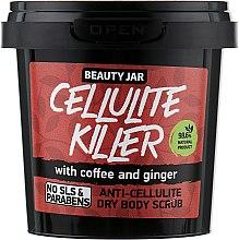 """Voňavky, Parfémy, kozmetika Peeling na telo anticelulitída """"Cellulite Killer"""" - Beauty Jar Anti-Cellulite Dry Body Scrub"""