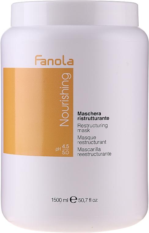 Obnovujúca výživná maska pre suché a krehké vlasy - Fanola Nourishing Restructuring Mask
