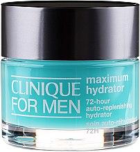 Voňavky, Parfémy, kozmetika Pánsky hydratačný krém na tvár - Clinique For Men Maximum Hydrator 72-hour Auto-Replenishing