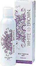 Voňavky, Parfémy, kozmetika Samoopaľovací sprej  - White To Brown Self Tanning Mist Medium