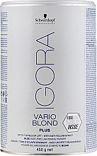 Voňavky, Parfémy, kozmetika Rozjasňujúci prášok - Schwarzkopf Professional Igora Vario Blond Plus