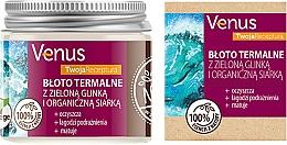 Voňavky, Parfémy, kozmetika Termálne bahno so zelenou hlinou a organickou sírou - Venus Nature Your Recipe Thermal Mud With Green Clay And Organic Sulfur