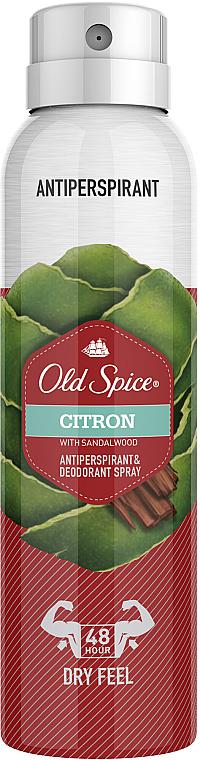Aerosólový antiperspirant - Old Spice Citron Dezodorant Spray