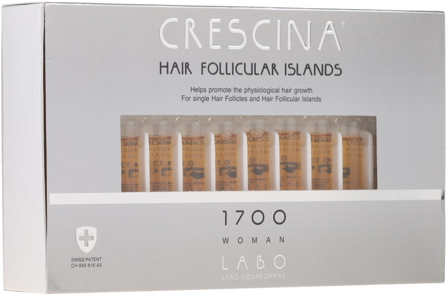 Lotion na stimuláciu rastu vlasov u žien - Crescina Hair Follicular Islands Re-Growth — Obrázky N1
