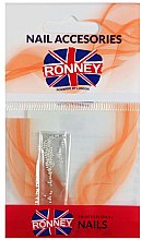 Voňavky, Parfémy, kozmetika Guličky na zdobenie nechtov, 00380, strieborné - Ronney Professional Decoration For Nails