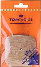 Voňavky, Parfémy, kozmetika Vreckové zrkadlo, štvorcové, béžové 85673 - Top Choice