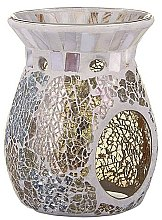 Voňavky, Parfémy, kozmetika Aromatická lampa - Yankee Candle Wax Burner Gold & Pearl
