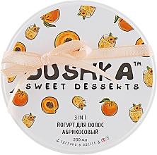 """Voňavky, Parfémy, kozmetika Jogurt na vlasy """"Marhuľový"""" - Dushka"""