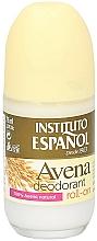Voňavky, Parfémy, kozmetika Guľôčkový dezodorant - Instituto Espanol Avena Deodorant Roll-on