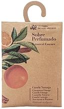 """Voňavky, Parfémy, kozmetika Vonné vrecko """"Pomaranč a škorica"""" - La Casa de Los Botanical Essence Cinnamon Orange"""