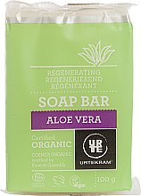 "Voňavky, Parfémy, kozmetika Rekonštruovať mydlo ""Aloe vera"" - Urtekram Regenerating Aloe Vera Soap"