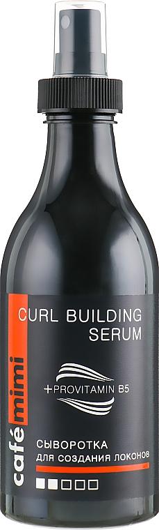 Sérum na vytváranie kučier - Cafe Mimi Curl Building Serum