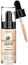 Voňavky, Parfémy, kozmetika Tonálny základ s efektom liftinga - Ingrid Cosmetics Lift Serum Foundation SPF8