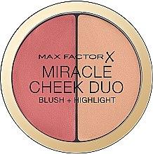 Voňavky, Parfémy, kozmetika Paleta pre kontúrovanie tváre - Max Factor Miracle Cheeck Duo