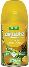 Voňavky, Parfémy, kozmetika Osviežovač vzduchu Energia citrusov - Airpure Air-O-Matic Refill Citrus Zing