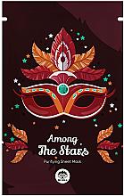 Voňavky, Parfémy, kozmetika Textilná maska na tvár - Dr Mola Among The Stars Purifying Mask