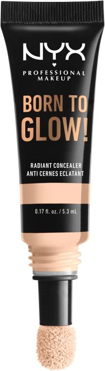 Korektor na tvár so žiarivým finišom - NYX Professional Makeup Born To Glow Radiant Concealer