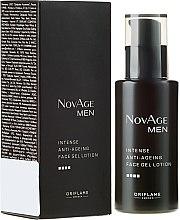 Voňavky, Parfémy, kozmetika Hydratačný gél-krém proti starnutiu pleti - Oriflame NovAge Men Intense Anti-Aging Face Gel Lotion