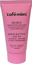 """Voňavky, Parfémy, kozmetika Krémové maslo na ruky """"Hĺbková výživa a regenerácia"""" - Cafe Mimi Hand Cream Oil"""