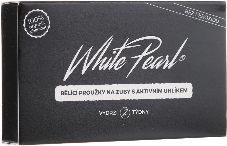 Bieliace pásky na zuby - VitalCare White Pearl Charcoal — Obrázky N1