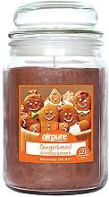 Voňavky, Parfémy, kozmetika Vonná sviečka, zázvorový perník - Airpure Jar Scented Candle Gingerbread