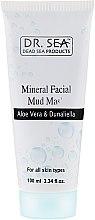 Voňavky, Parfémy, kozmetika Minerálna bahenná maska s aloe vera a dunaliellou - Dr. Sea Mineral Mud Mask