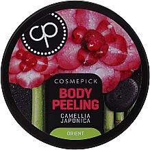 Voňavky, Parfémy, kozmetika Peeling-relaxácia na telo s olejom z kamélie japonskej - Cosmepick Body Peeling Camellia Japonica