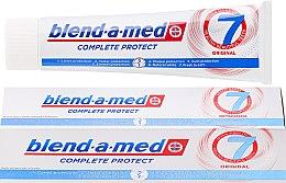 Voňavky, Parfémy, kozmetika Zubná pasta - Blend-a-med Complete Protect 7 Original