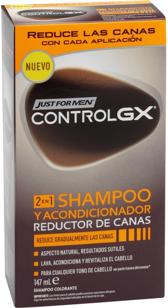 Šampón-kondicionér 2 v 1 - Just For Men ControlGX — Obrázky N1