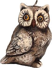 Voňavky, Parfémy, kozmetika Vonná sviečka, 6x12 cm, hnedá sova - Artman Owl