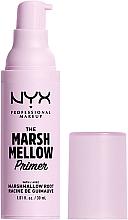 Voňavky, Parfémy, kozmetika Primer na tvár - NYX Professional The Marshmellow Smoothing Primer