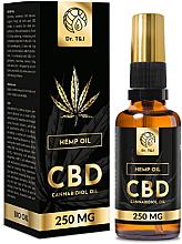 Voňavky, Parfémy, kozmetika Prírodný konopný olej Bio CBD 250mg - Dr. T&J Bio Oil