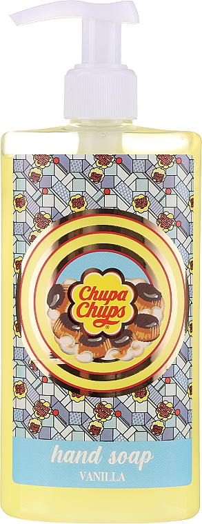 "Mydlo na ruky ""Vanilkové sušienky"" - Bi-es Chupa Chups Vanilla Cookies Hand Soap"