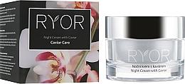 Voňavky, Parfémy, kozmetika Nočný krém s kaviárovým extraktom - Ryor Night Cream With Caviar