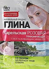 """Voňavky, Parfémy, kozmetika Hlina na tvár a telo """"Karelian"""", ružová - Fito Kozmetic"""