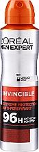 Voňavky, Parfémy, kozmetika Deodorant - L'Oreal Paris Men Expert Invincible 96 Hours Deodorant Spray