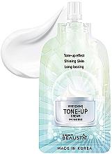 Voňavky, Parfémy, kozmetika Osviežujúci krém na tvár - Beausta Whitening Tone-Up Cream