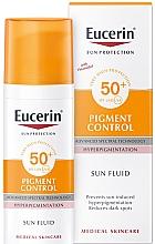 Voňavky, Parfémy, kozmetika Fluid na tvár proti hyperpigmentácii - Eucerin Sun Protection Pigment Control SPF50+