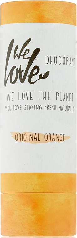 "Tuhý dezodorant ""Pomaranč"" - We Love The Planet Original Orange Deodorant Stick — Obrázky N1"