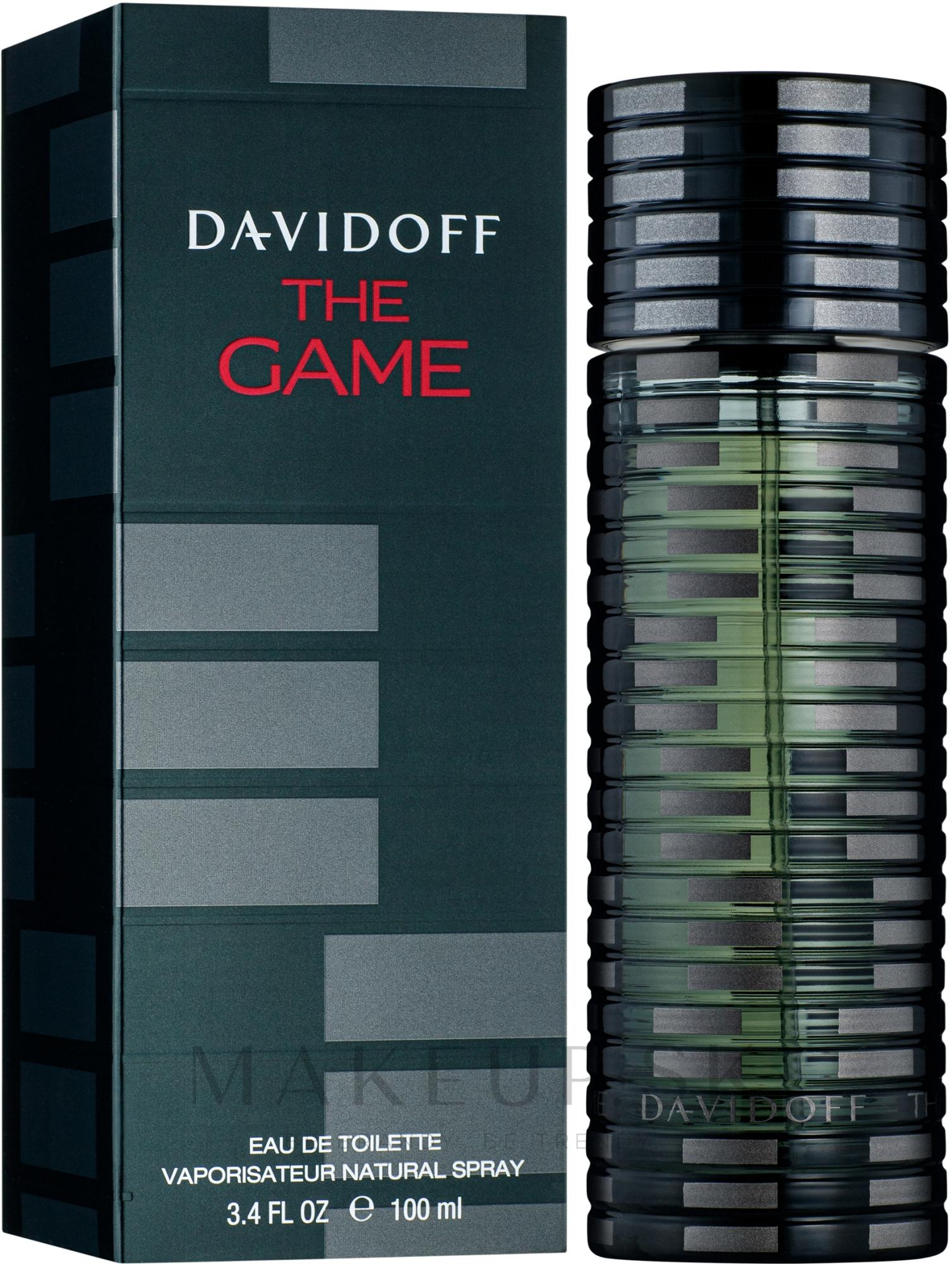 Davidoff The Game - Toaletná voda — Obrázky 100 ml