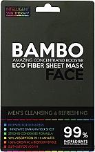 Voňavky, Parfémy, kozmetika Osviežujúca maska s morskou soľou a bambusovým extraktom - Beauty Face Cleansing & Refreshing Compress Mask For Man