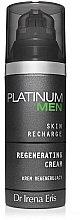 Voňavky, Parfémy, kozmetika Regeneračný krém na tvár - Dr Irena Eris Platinum Men Regenerating Cream