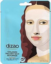 "Voňavky, Parfémy, kozmetika Boto maska na tvár a krk ""Kolagén"" - Dizao Collagen Face & Neck Botomask"