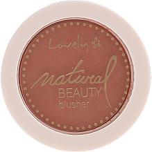 Voňavky, Parfémy, kozmetika Kompaktná lícenka pre tvár - Lovely Natural Beauty Blusher