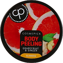 Voňavky, Parfémy, kozmetika Cukrový peeling na telo s vôňou grapefruitu a zázvoru - Cosmepick Body Peeling Grapefruit & Ginger