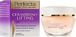 Voňavky, Parfémy, kozmetika Anti-age krém na tvár - Perfecta Ceramid Lift 50+ Face Cream