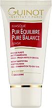 Voňavky, Parfémy, kozmetika Hĺbkovo vyvažujúca čistiaca maska - Guinot Masgue Pur Eguilibre