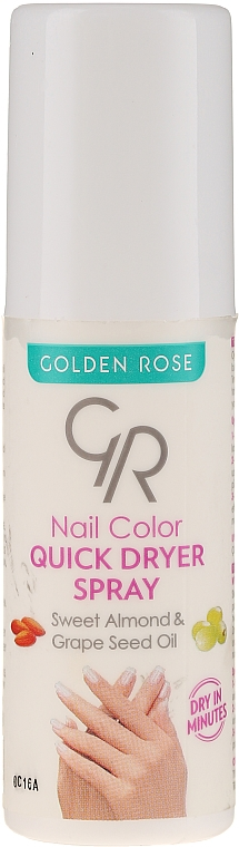 Sušiaci sprej na nechty - Golden Rose Nail Quick Dryer Spray